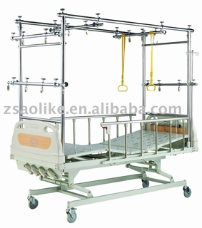 CE,FDA certificated Steel Frame Medical Orthopaedic bed