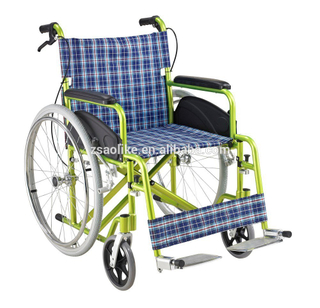 Cheap Aluminum manual wheelchair for sale ALK972LJP-24""