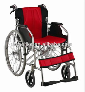 Aluminum manual wheelchair for the disabled