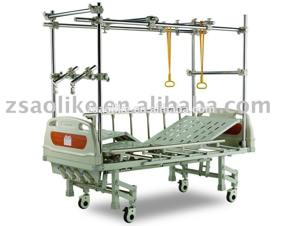 CE,FDA certificated Steel Frame Orthopaedic Traction Bed