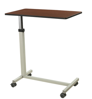 hospital dining table over bed table bedside table