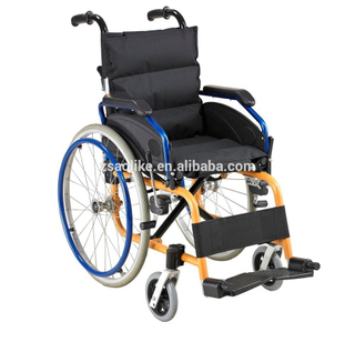 Lightweight folding Children wheelchair for sale ALK907LAP