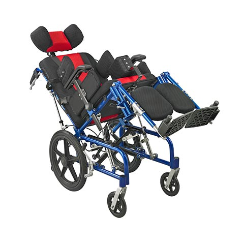 Aluminum alloy brain paralysis wheelchair ALK958LC