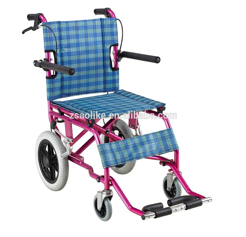 Lightweight aluminum wheelchair for sale ALK902LBJ